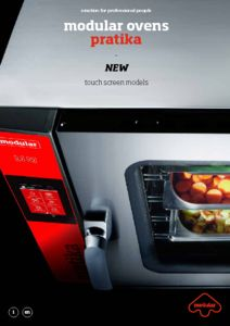 NEW! Hornos Touch Pratika