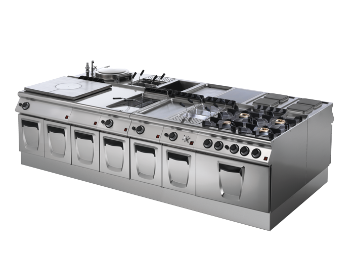 Professional kitchens for restaurants and hotels - Modular