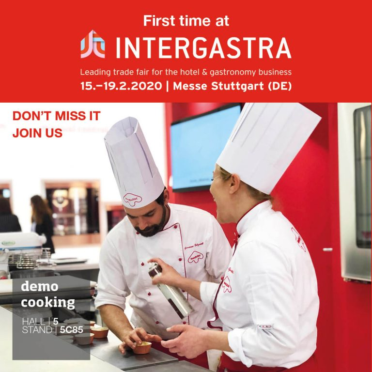 INTERGASTRA FAIR – 15/19 FEBRUARY 2020 STUTTGART
