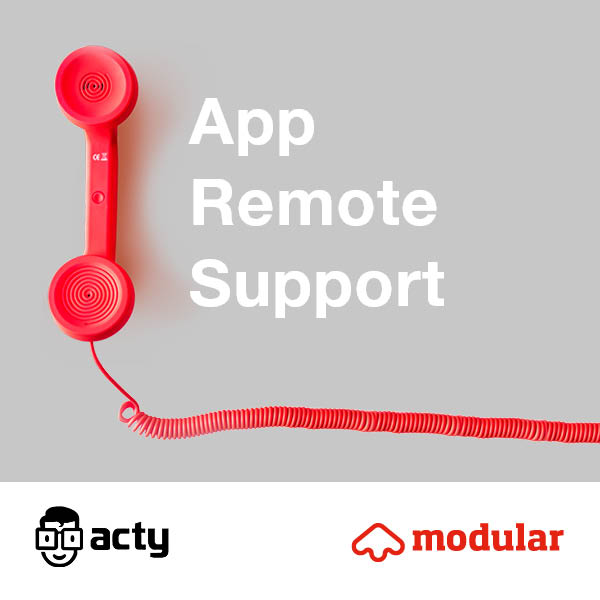 ACTY: APP REMOTE SUPPORT